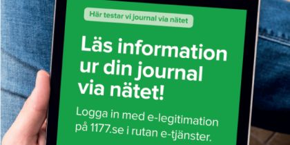 Journal via nätet